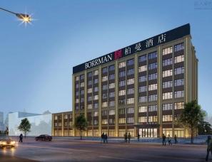 非设计分享——意式风格的柏曼酒店设计