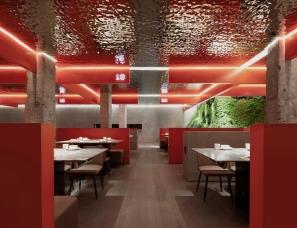物上空间设计--重庆火锅旗舰店
