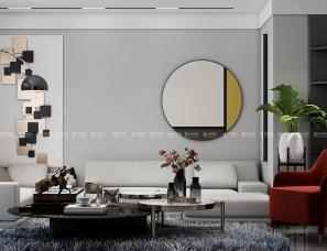 留白的设计来营造出空间中的个性与宁静