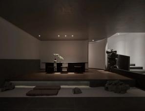 构造设计--杭州山海精典茶室190㎡一处静谧文雅空间