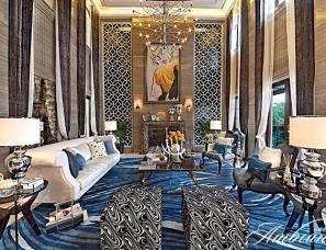 香港黄志达RWD设计---深圳曦城独栋别墅V样板房