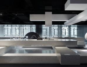 共生形态--画王大理石品牌展厅