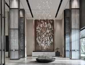 尚石设计--弘阳·襄御澜庭销售中心