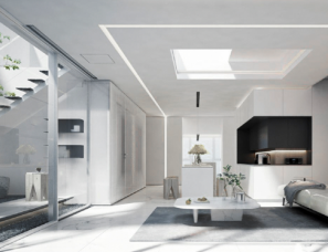 Setone Design--品秀星图55栋叠墅户型上叠样板间