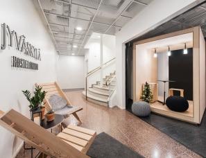 Studio Puisto Architects--芬兰 Hostel Forenom创意旅馆