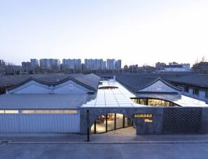 hyperSity建筑设计--合院里的书店