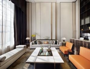 广州共生形态设计--珠江壹城A5区G10-02单元别墅样板房