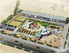 城市广场.小区广场设计案例效果图