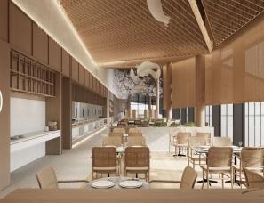 木卡建筑设计--崇上禾下生态文化餐厅项目