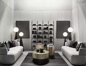 LISIYI设计--家具品牌展厅的纵横光线