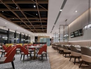 茶餐厅设计【顶峰】惠州打卡新坐标,港式茶餐厅