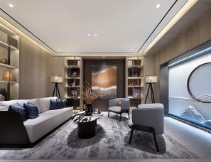 【首发】深圳昊泽空间设计--福州奥体方圆里D户型样板房