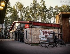 乌克兰Yaroslav Galant设计--骑行者的建筑部落