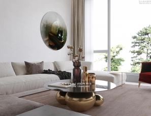 初舍空间表现-分享一套家装效果