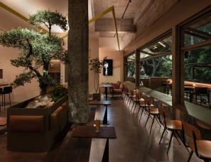 杭州观堂设计--暗光精酿咖啡吧