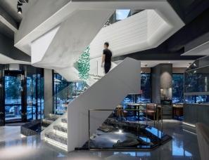 有田建筑设计--金香汇晚茶长白店