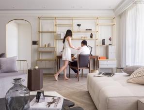 新澄设计黄重蔚--35坪轻奢美式住宅 永恒不凡的居家品味