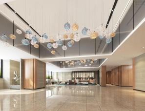 现代简约风格的万枫酒店设计分享