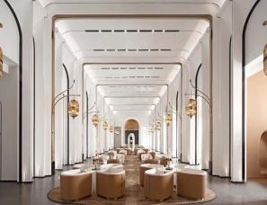 广州GBD设计--烟台中海万锦公馆售楼部