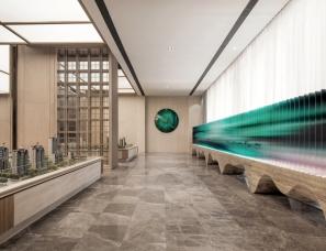集艾设计+香榭蒂设计--济南绿地国博城售楼中心