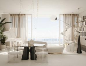 Dezest Design--美国迈阿密350㎡极简豪宅