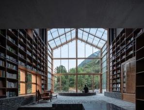 西涛设计--叠室入书山——青龙坞言几又乡村胶囊旅社书店