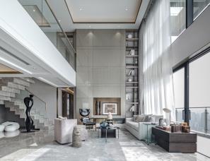 达文设计--广州粤海拾桂府顶层私人住宅