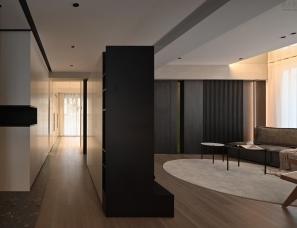 王中玮工作室--上海德玛公寓160㎡