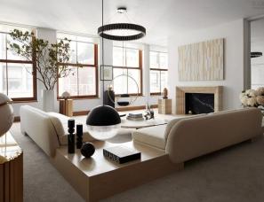 李·布鲁姆--设计师私宅纽约的顶层公寓