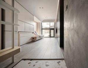 虫点子创意设计-42㎡三室两厅,错层小宅的华丽转身!