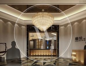 无间设计吴滨作品--佛山金地珑悦售楼中心