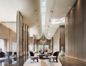 赛拉维设计--万科&旭辉·宾西路五号售楼处
