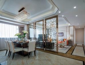 WSD · 吴舍软装设计--韶关永乐城 · 港式后现代样板房