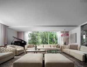 高志强设计--北京大湖山庄私宅