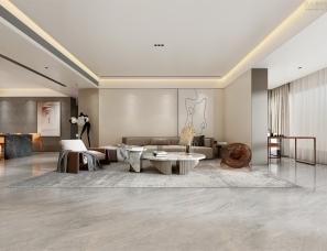 溪成作品丨灰白+原木·极简盐系素雅空间
