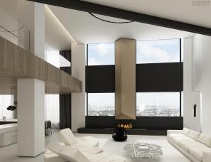 孟也设计--亿洋城1200m²住宅设计方案