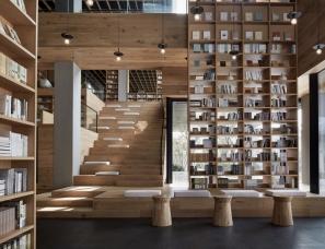风合睦晨空间设计--杭州首创阅书馆