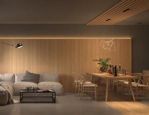 Akhunov Architects--温暖平静的家