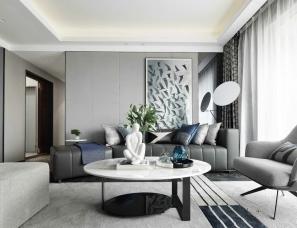 深圳尚石设计--中南·熙悦200㎡顶级复式样板房