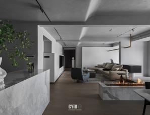辰佑设计︱嘉兴平湖260㎡双拼大平层私宅