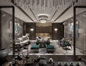 IDEAL艾迪尔设计--北京山水文园样板房
