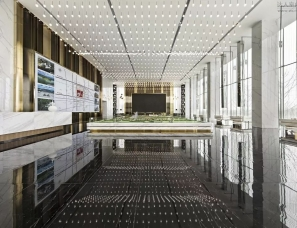 G-ART 集艾设计--萍乡绿地城际空间站售楼处