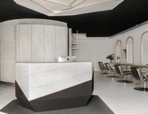 汉玥室内设计--慕白发廊
