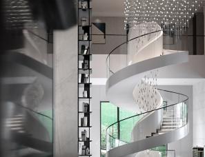 UMA伍玛设计--哈尔滨保利·天悦售楼处+样板间