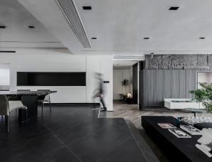 Lumos Studio杨铭--北京星河湾300㎡单身男子私宅