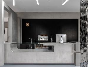 简线建筑设计--芷麦甜品店