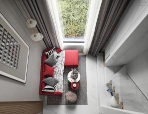 大铄设计--锦上城Loft公寓样板间单/双钥匙