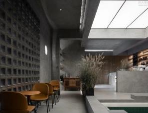 北京圣奢设计--ZAO堂咖啡厅