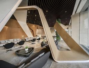 KLID达观国际设计--郑州阳光城檀悦售楼处