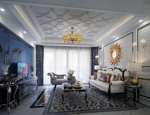 WSD · 吴舍软装设计--韶关永乐城 · 新古典样板房